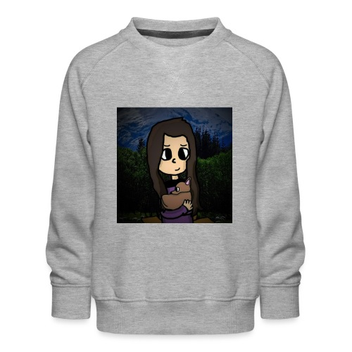 ninjax met achtergrond - Kinderen premium sweater