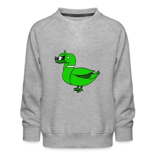 Greenduck Film Just Duck - Børne premium sweatshirt