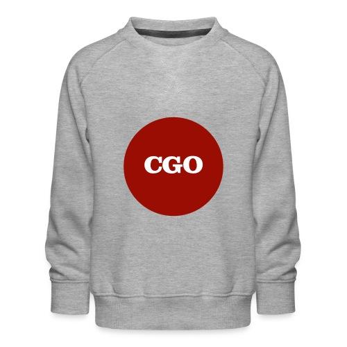 watermerk cgo - Kinderen premium sweater