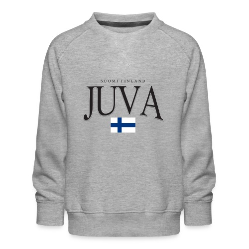 Suomipaita - Juva Suomi Finland - Lasten premium-collegepaita