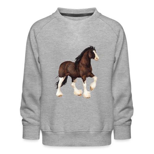 Shire Horse - Kinder Premium Pullover