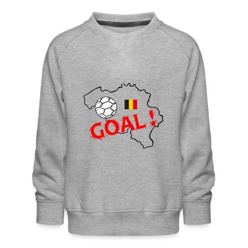 football Belgique - Sweat ras-du-cou Premium Enfant