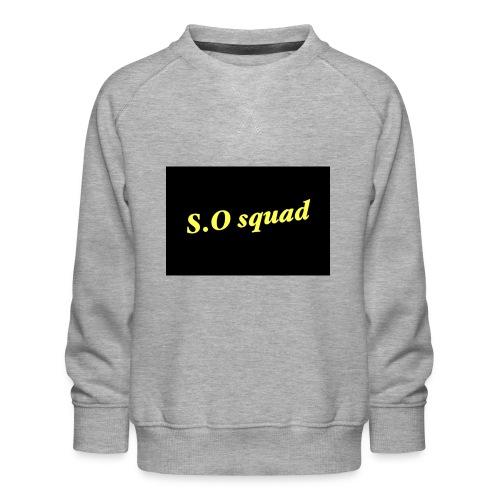S.O squad - Sweat ras-du-cou Premium Enfant