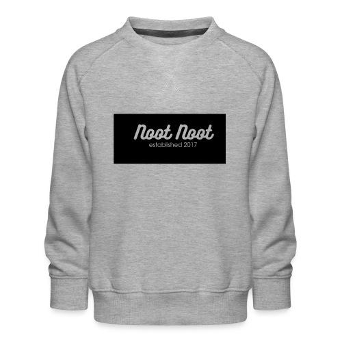 Noot Noot established 2017 - Kids' Premium Sweatshirt