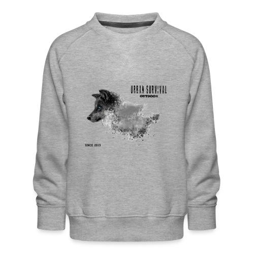 dog black - Kinder Premium Pullover