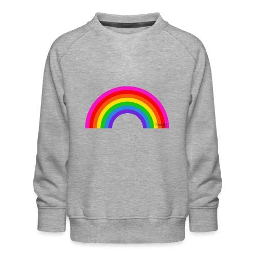 Rainbow - Lasten premium-collegepaita