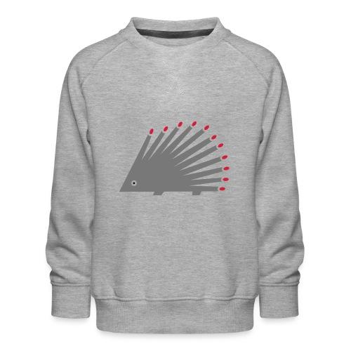 Hedgehog - Kids' Premium Sweatshirt