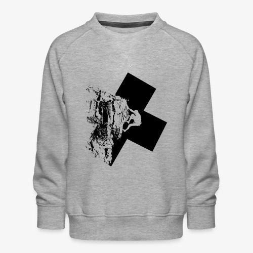 Escalada en roca - Kids' Premium Sweatshirt