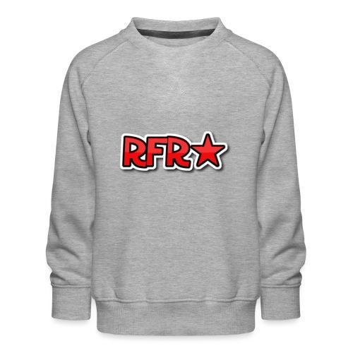 rfr logo - Lasten premium-collegepaita