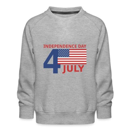 4 luglio giorno della indipendenza - Felpa premium da bambini