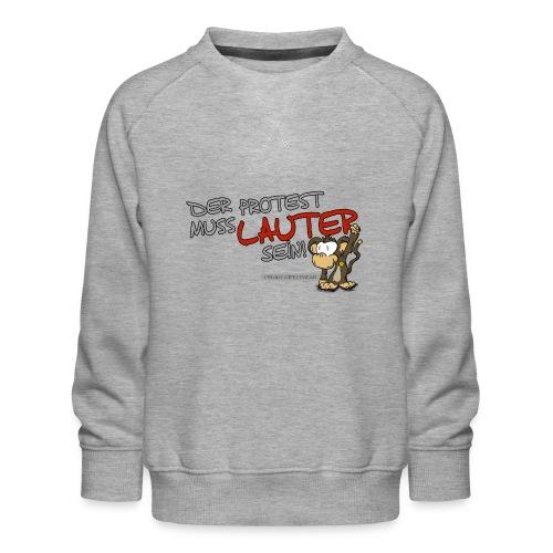 Protest-Äffchen1 - Kinder Premium Pullover