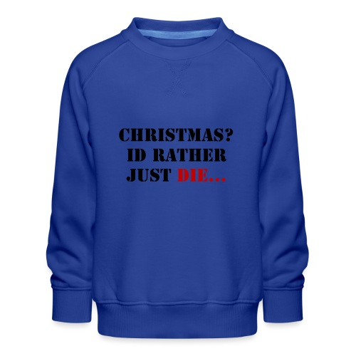 Christmas joy - Kids' Premium Sweatshirt