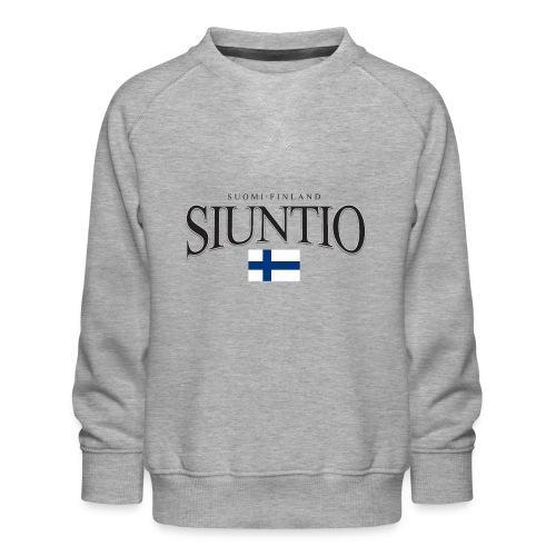 Suomipaita - Siuntio Suomi Finland - Lasten premium-collegepaita