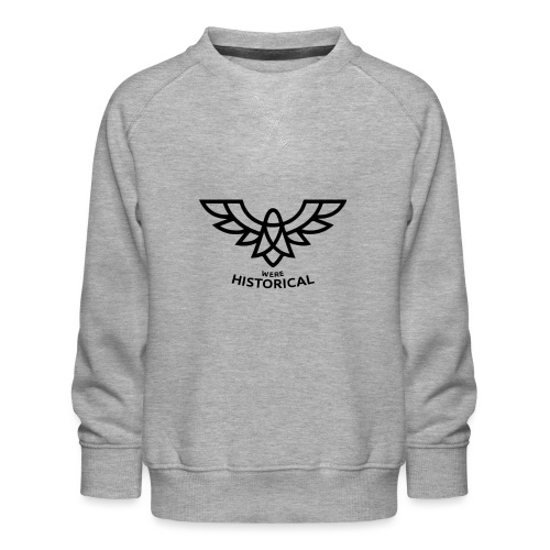 Text & Logo - Kids' Premium Sweatshirt
