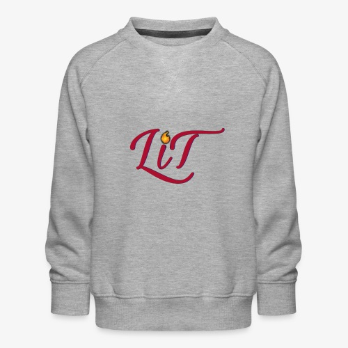 LiT CO Logo #1 - Kids' Premium Sweatshirt