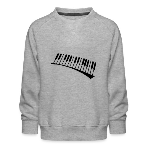 Piano - Sudadera premium para niños y niñas