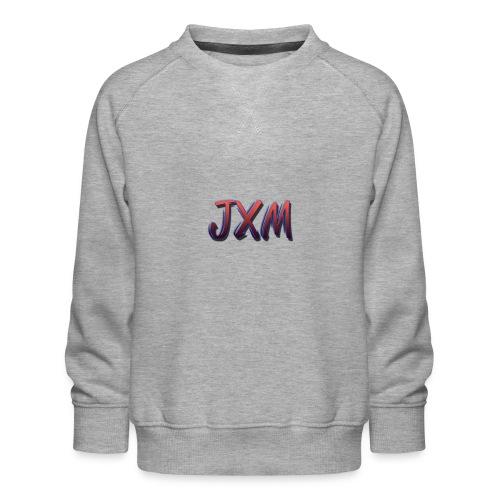 JXM Logo - Kids' Premium Sweatshirt