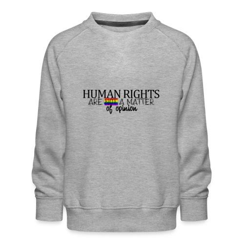 Huma rights - Sudadera premium para niños y niñas