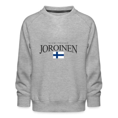 Suomipaita - Joroinen Suomi Finland - Lasten premium-collegepaita