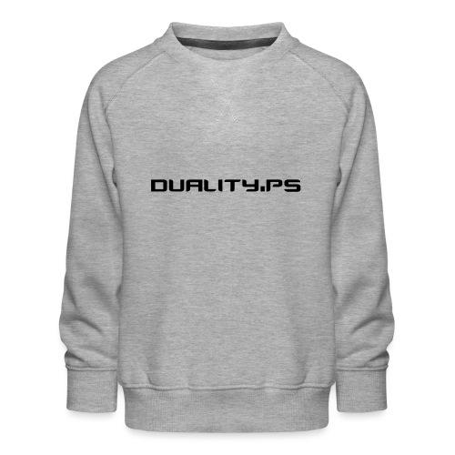 dualitypstext - Premiumtröja barn