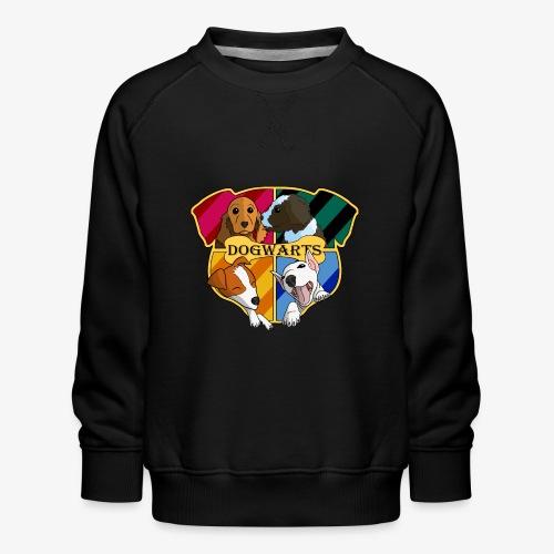 Dogwarts Logo - Kids' Premium Sweatshirt