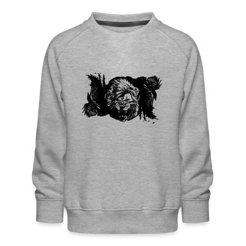 Raven & lion - Sweat ras-du-cou Premium Enfant