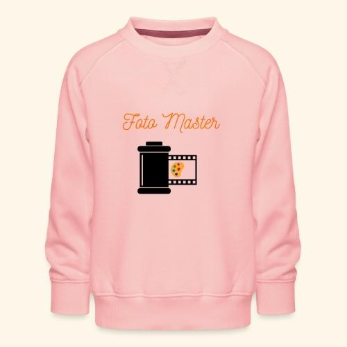Foto Master 2nd - Børne premium sweatshirt