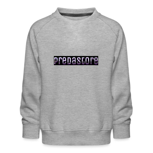 PredaStore Original Logo Design - Kids' Premium Sweatshirt