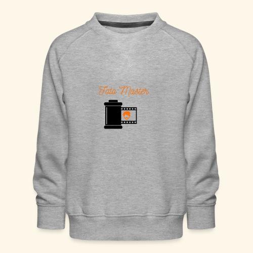 Foto Master - Børne premium sweatshirt