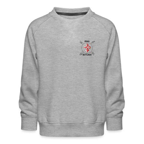 Logo schwarz - Kinder Premium Pullover