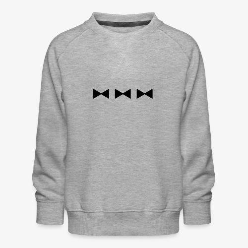 3 FLIEGEN - schwarz - Kinder Premium Pullover