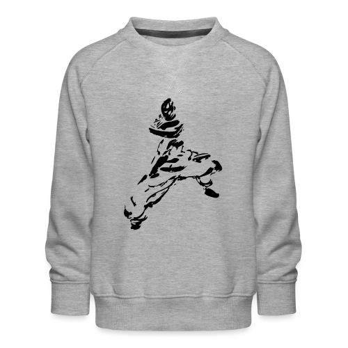 kungfu - Kids' Premium Sweatshirt