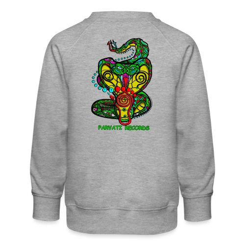Parvati Records Cobra by Juxtaposed HAMster - Kids' Premium Sweatshirt