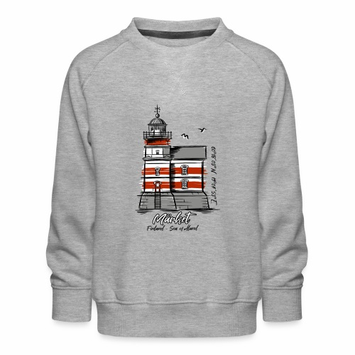 Finnish Lighthouse MÄRKET Sea Textiles, and Gifts - Lasten premium-collegepaita