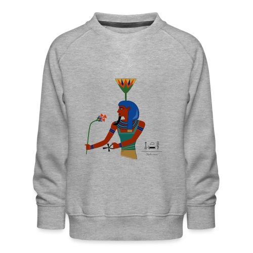 Nefertem I altägyptische Gottheit - Kinder Premium Pullover