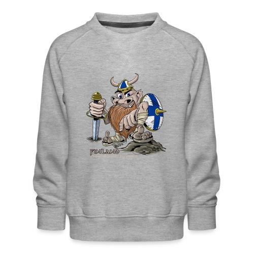 FINLAND VIKING T-paidat, tekstiilit ja lahjaideat - Lasten premium-collegepaita