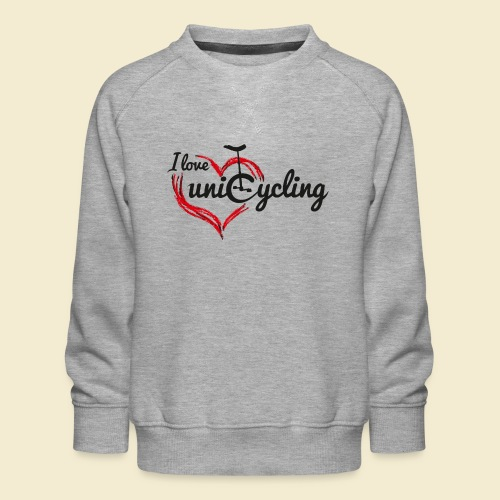 Einrad | I love unicycling - Kinder Premium Pullover