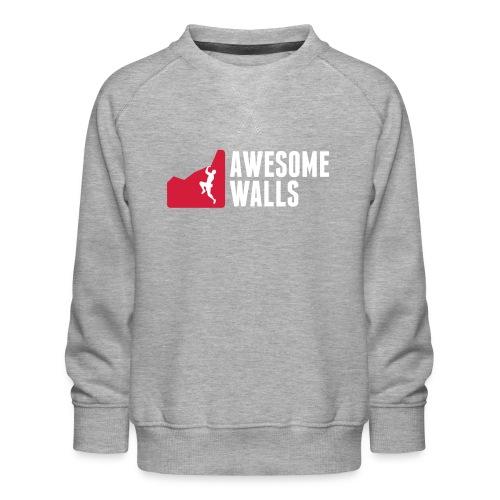 Climbing Equipment - Kids' Premium Sweatshirt
