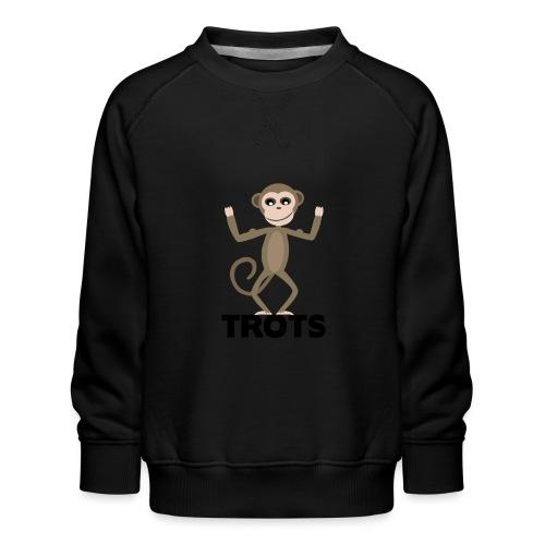 apetrots aapje wat trots is - Kinderen premium sweater