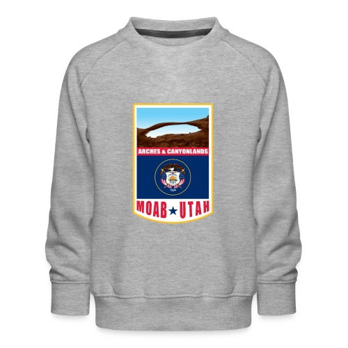 Utah - Moab, Arches & Canyonlands - Kids' Premium Sweatshirt