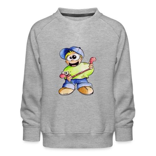 Elastizitätstest - Kinder Premium Pullover