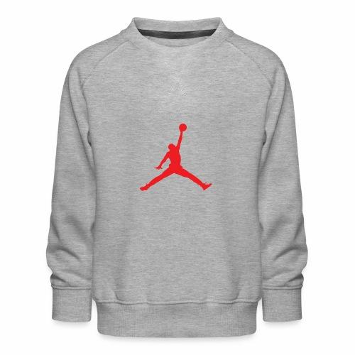 Méchant basket-ball - Sweat ras-du-cou Premium Enfant