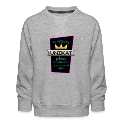 Unikat - Kinder Premium Pullover