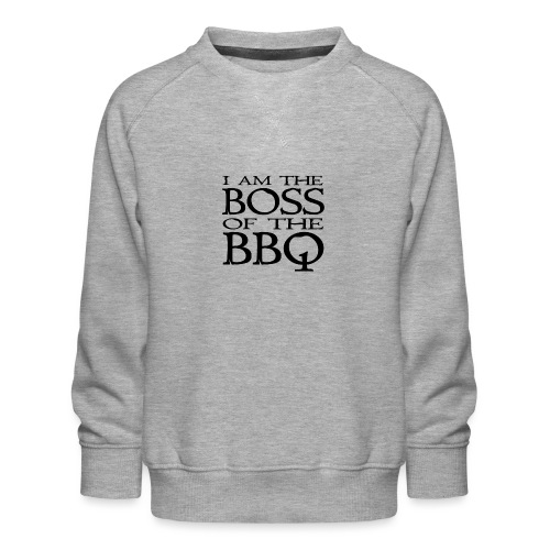 I am the Boss of the BBQ - der Chef am Grill - Kinder Premium Pullover