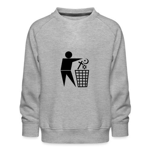 Anti Religion # 1 - Kids' Premium Sweatshirt