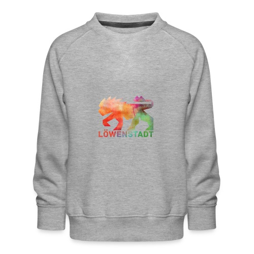 Löwenstadt Design 5 - Kinder Premium Pullover