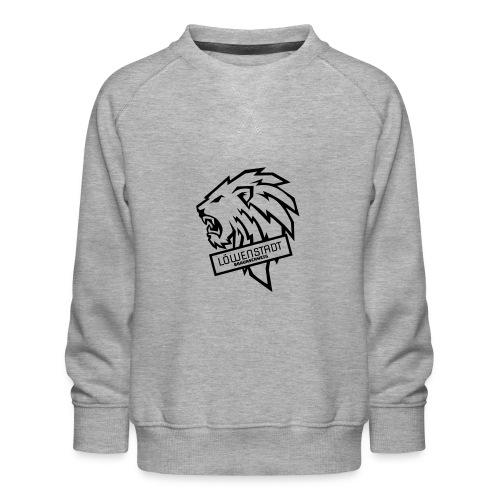 Löwenstadt Design 9 schwarz - Kinder Premium Pullover