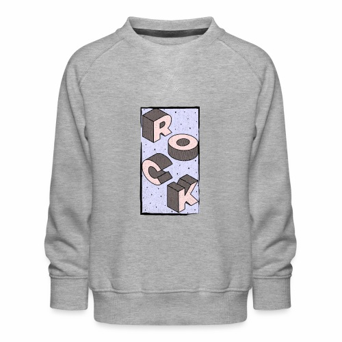 Retro Rock & Roll Geschenkideen - Kinder Premium Pullover