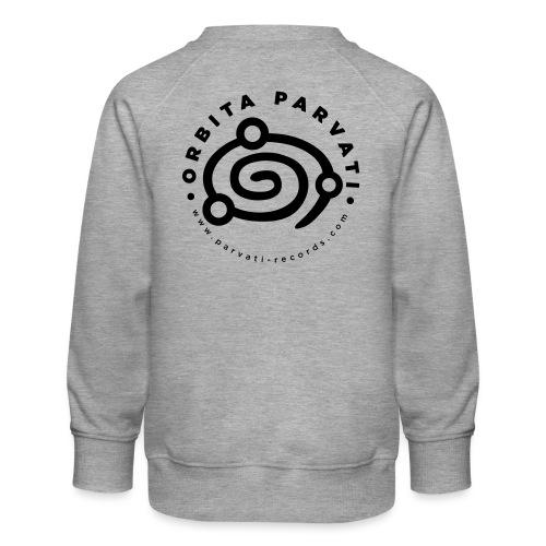 Orbita Parvati logo - Kids' Premium Sweatshirt