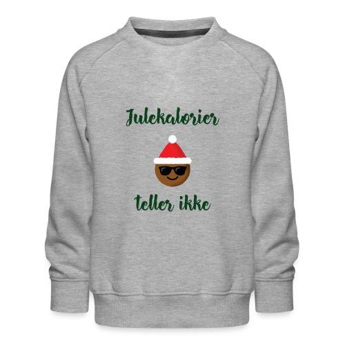 Morsomt julemotiv - Premium-genser for barn